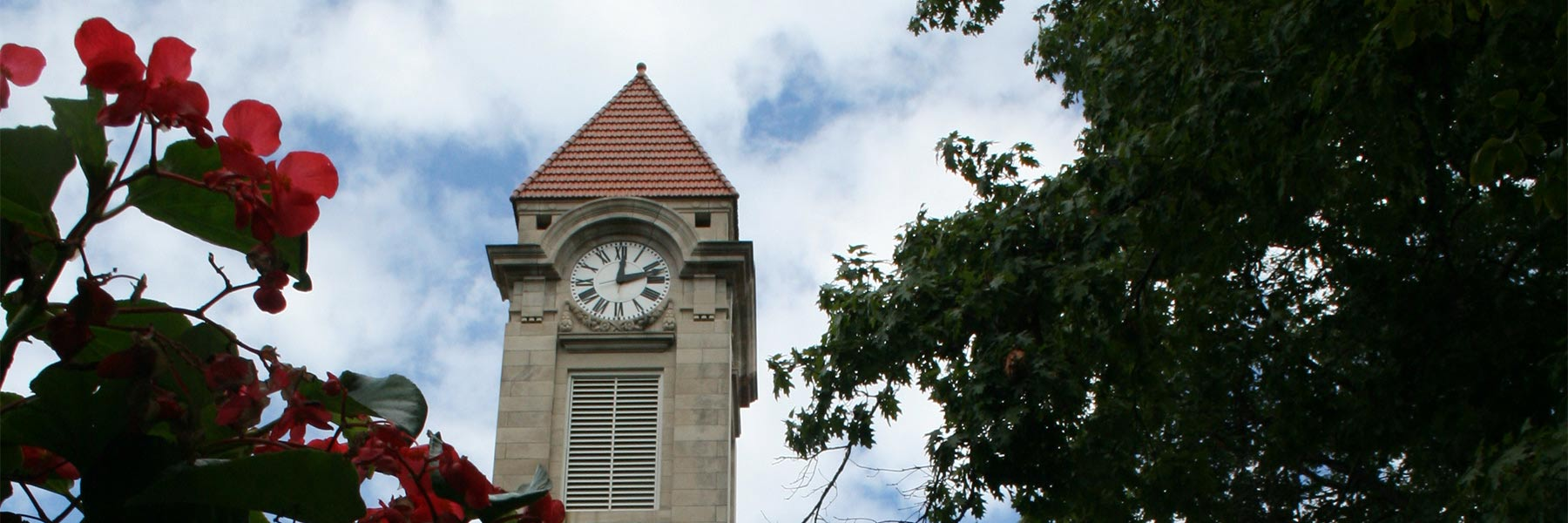 IU Student Building Clock Tower