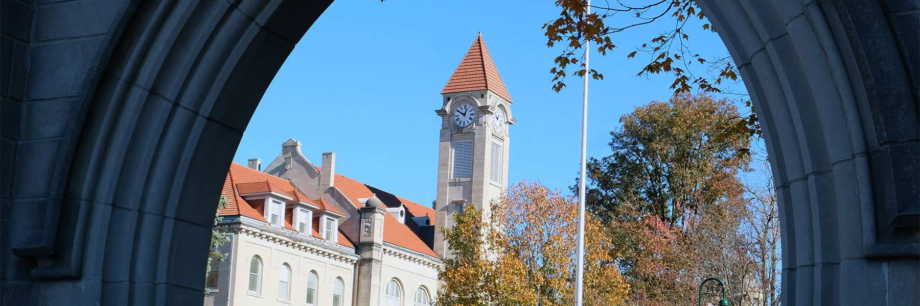 Student Building Clock Tower